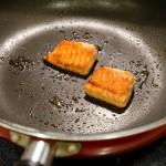 フライパン焼き鮭